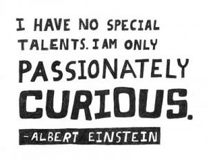 Curiosity-Einstein
