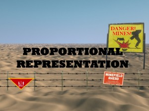 Proportional Representation Mine Field J