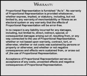 Warranty J